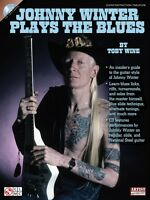 Johnny Winter Plays The Blues - Guitar Educational Book And Cd 002501389