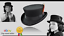Junior-Top-Hat-DeadMan-Top-Hat-Classic-100-Wool-Hand-Made-Steampunk-style-HAT thumbnail 1