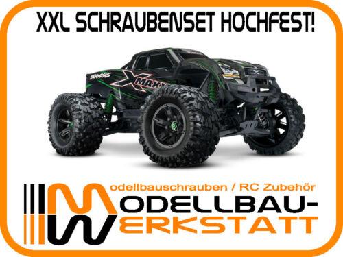 für TRAXXAS X-MAXX 8S screw kit XXL Schrauben-Set Stahl hochfest