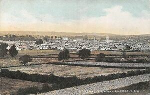 POSTCARD-ISLE-OF-WIGHT-NEWPORT-General-View