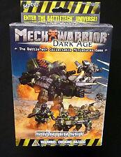 Wizkids MechWarrior Dark Age Starter Set Factory Sealed from 2002 BattleTech