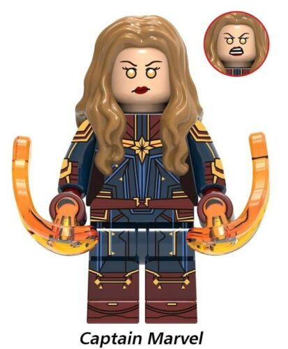 Avengers Endgame Ancient One Captain America Tony Stark Marvel Building Blocks