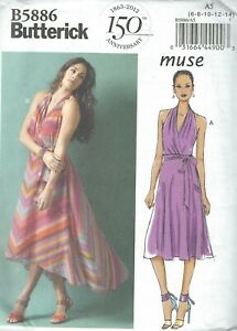 Butterick 4606  Misses/' Dress  Sewing Pattern