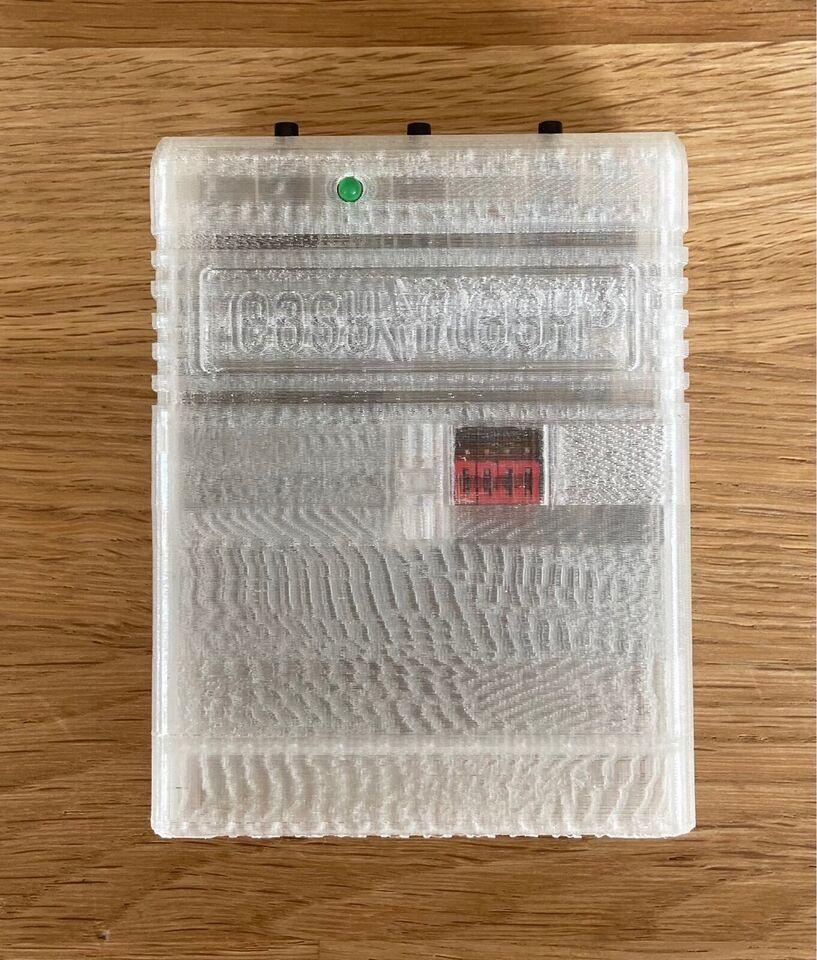 Cartridge case til EasyFlash 3 , Commodore 64