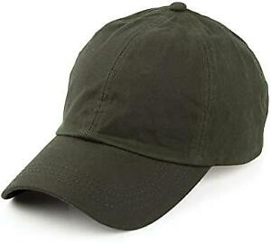Mens Wax Baseball Cap Leather Waterproof Fishing Shooting Outdoor Waxed Hat NEW