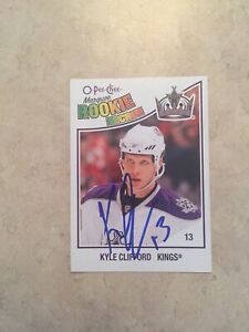 Kyle-Clifford-Signed-Toronto-Maple-Leafs-Rookie-Card