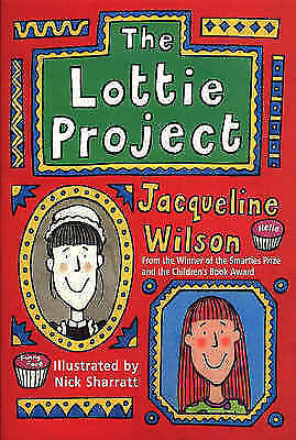 The Lottie Project by Jacqueline Wilson, Good Used Book (Paperback) FREE & FAST