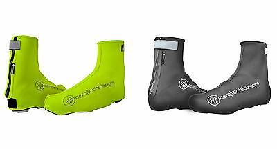 Neoprene Shoe Cover Reflective Overshoes Zippered Thermal Booties Resists Water