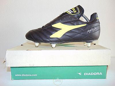 Vintage 80 90 DIADORA Match Winner 38 Scarpe 5 Cal