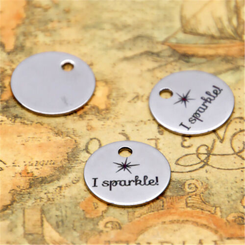 good man charm silver tone message charm pendant 20mm 10pcs I SP