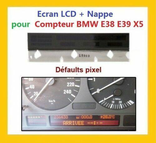 VRAI KIT ECRAN LCD Complet pour compteur odb BMW E38 E39 X5 SKY