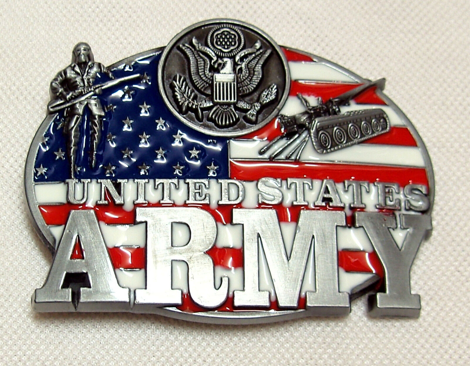 Belt Buckle United States Army Special Forces Air Force Flag USA Belt Buckle