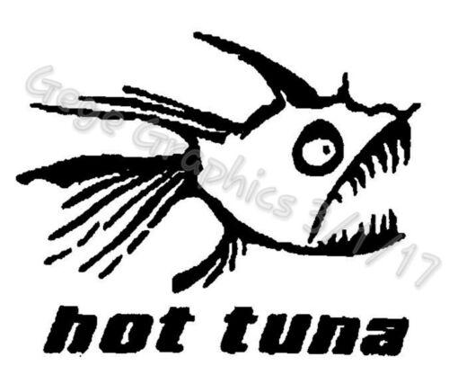 """Hot Tuna Decal Sticker 5/""""x 6/"""" Inches"""
