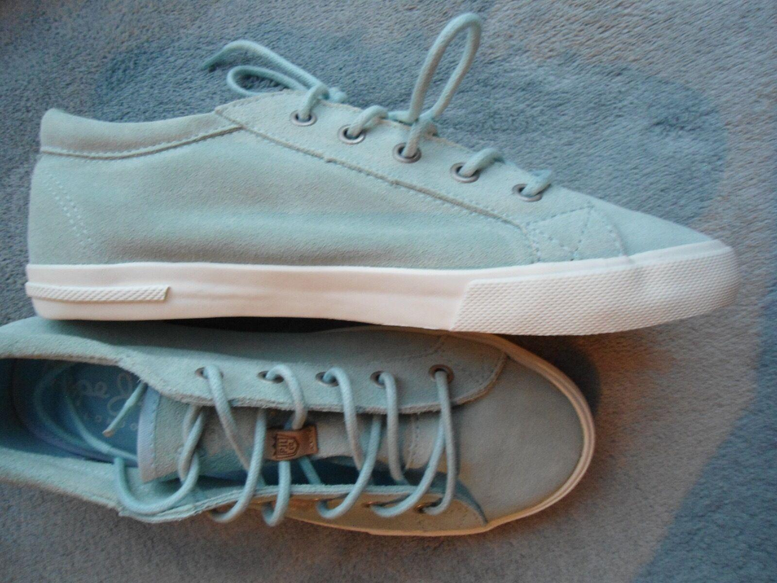 Pepe Jeans Sneaker Damen Gr.39 hellblau mint Leder NEU
