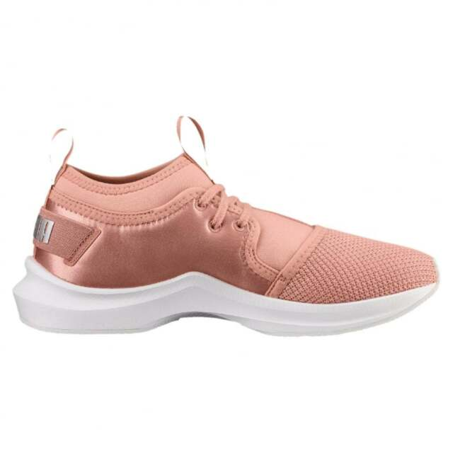 e65378a79d4ecc PUMA Phenom Low Satin EP Women s Fitness cross Training Shoes Pink ...