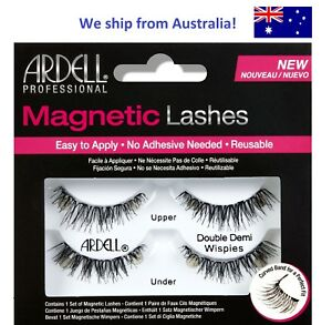 19d4577a2fe Ardell MAGNETIC EYE LASHES - Double Wispies Black Fake False Eyelash ...