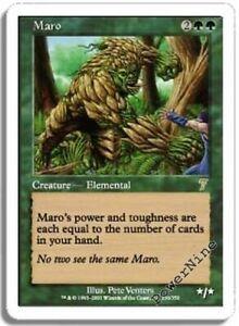 4 Mawcor = Blue Seventh 7th Edition Mtg Magic Rare 4x x4