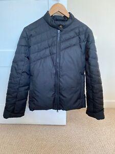 Details about Black Benetton Puffer Jacket 1012