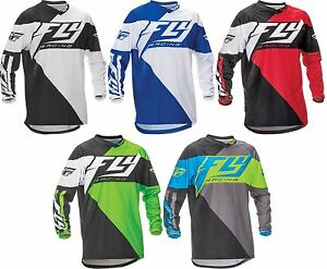 fly racing 2016 f 16 mx atv bmx jersey men youth all sizes all colors. Black Bedroom Furniture Sets. Home Design Ideas