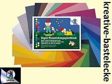 URSUS Tonpapier Bastelset - Format 24 x 34 cm - 50 Blatt sortiert in 25 Farben