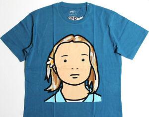 JULIAN-OPIE-x-UNIQLO-039-Elena-Schoolgirl-039-SPRZ-NY-Graphic-Art-T-Shirt-L-NWT