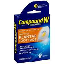 Compound W One Step Plantar Pads 20 Each