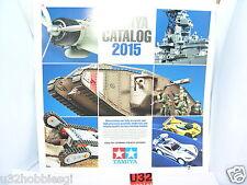 TAMIYA CATALOGO EDICION 2015 ENGLISH/SPANISH  NUEVO  85  PAGINAS