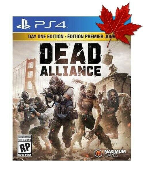 Dead Alliance Day 1 Edition PS4
