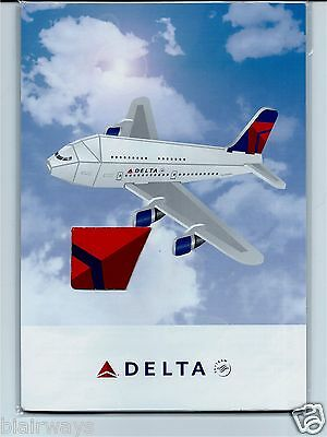 DELTA AIR LINES BOEING 747-400 PILOT CARD #33 CHANGE VIEW COLLECTOR CARD 2015