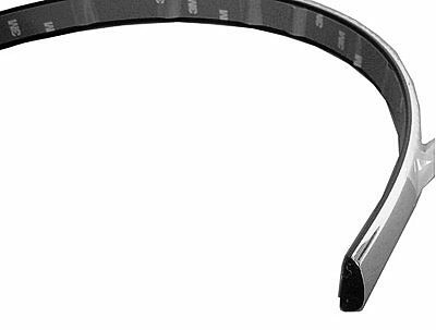 Replacement Bumper Impact Strip Fits 94-96 Chevrolet Caprice