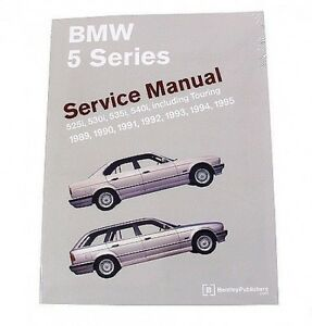 for bmw e34 525i touring 530i 535i 540i service repair manual rh ebay com BMW E34 M5 BMW E34 5 Series