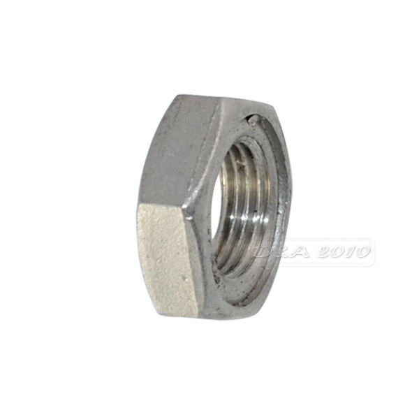 """1/2"""" Lock Nut Stainless Steel 304 O-Ring Groove Pipe Fitting Lock Nut NPT NEW"""