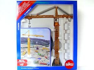 SIKU-1-87-GRU-A-TORRE-LIEBHERR-TOWER-SLEWING-CRANE-ART-1899