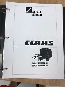 claas rollant 66 rollant 46 baler service and repair manual ebay rh ebay com Claas 46 Baler Claas Baler Parts