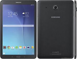 "Samsung Galaxy Tablet E SM-T560  9.6"" Black 8gb Wifi Only"