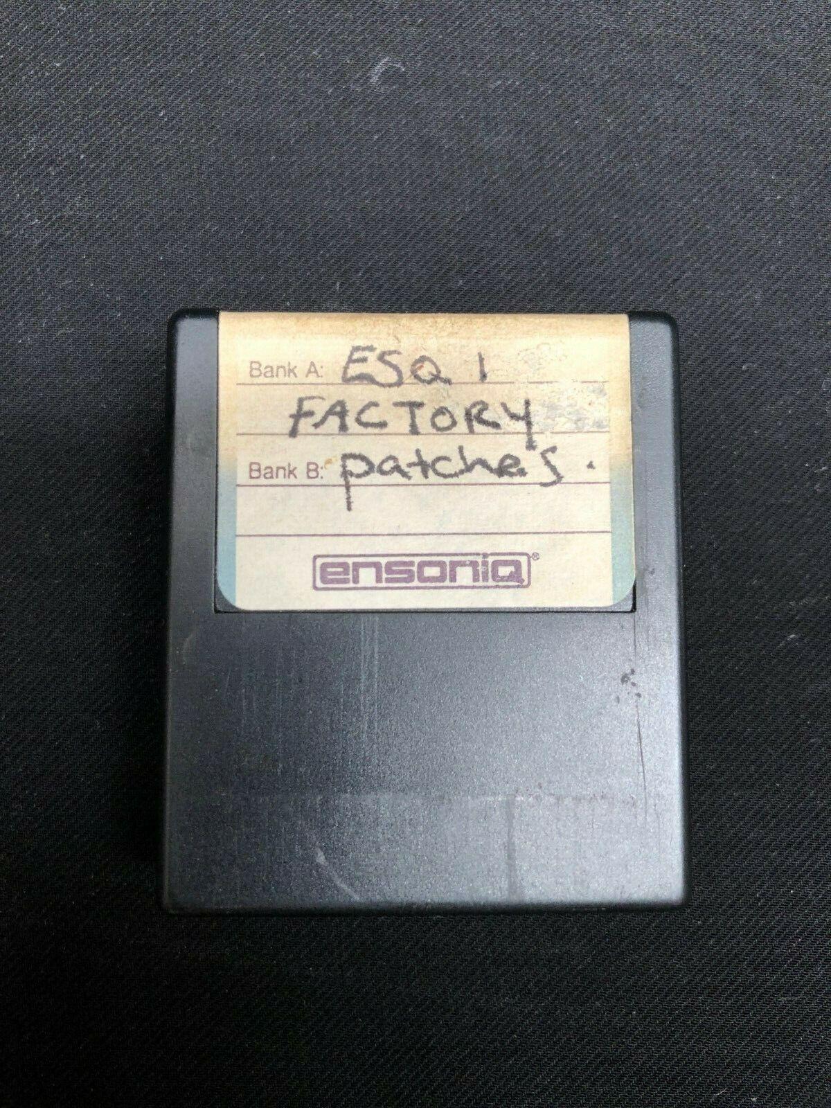 Ensoniq ESQ-1 Factory Sounds Cartridge - Data Rom Voices
