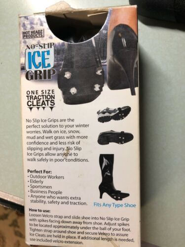 Details about  /One Size Shoe Traction Cleats