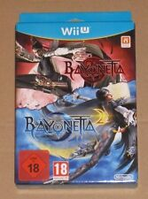 Bayonetta 1 + 2 Special Edition Nintendo Wii U - New Boxed PAL UK Limited