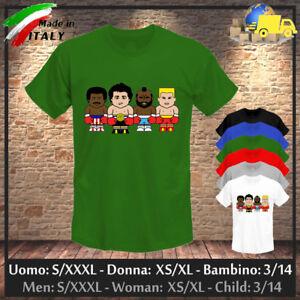 T-shirt-034-ROCKY-034-Apollo-Cred-Ivan-Drago-Mr-T-Baracus-Comics-Toon-Collez-2020