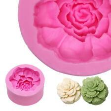 Silikon 3D Gartennelke Fondant Form Muttertag Kuchen-Form Party DIY Backform
