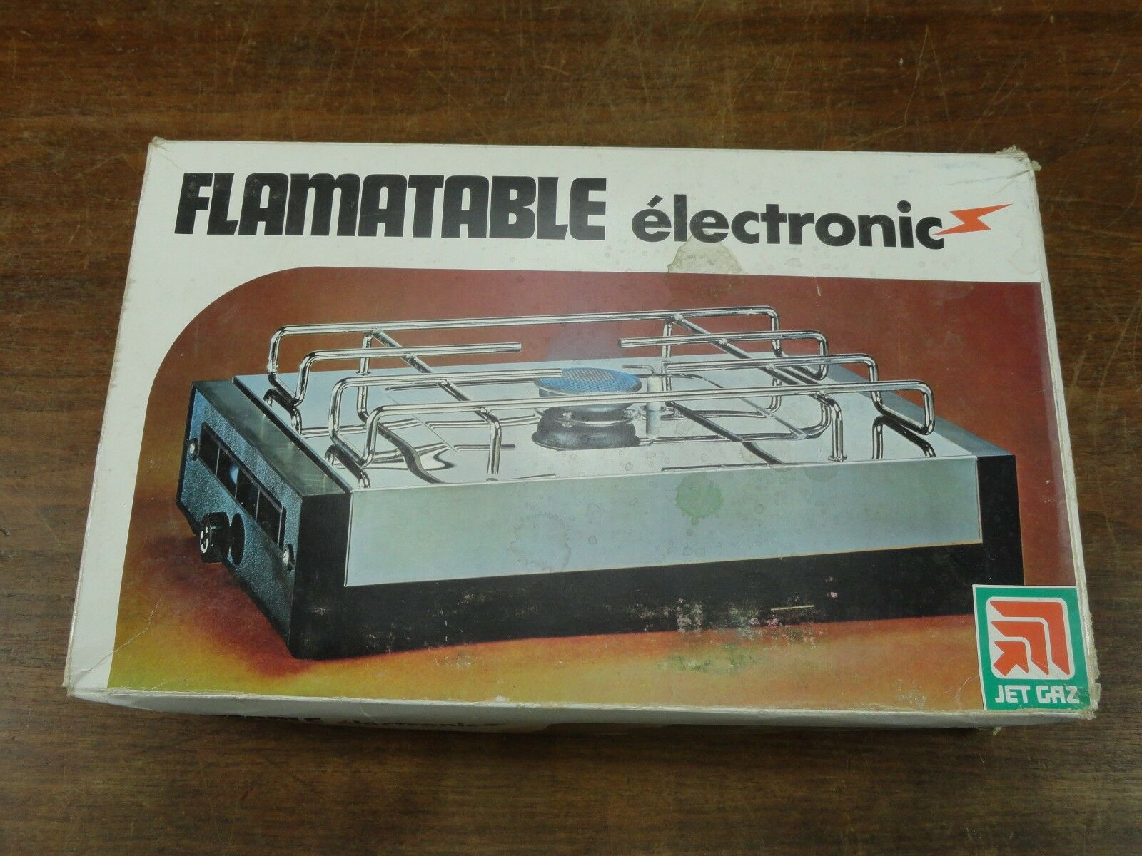NOS Vintage Jet Gaz Flamatable Electronic Camp Stove  Never been used