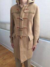 Vtg Gloverall Original English Duffle Duffel Coat Wool Brown 38 Small Vintage S