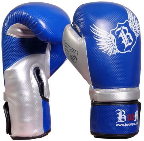 BOOM Boxing Gloves Kick boxing Bag Training Mitts Sparring MMA Punch Muay Thai
