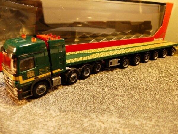 1 87 87 87 Herpa MB Actros L SLT Ballast Caravane semi-remorque THÖMEN 308625 9d97fe