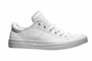 CONVERSE CHUCK TAYLOR MADISON OX LEATHER WHITE STYLE 551585C SIZE 9