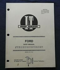 1989 Ford 1110 1210 1310 1510 1710 1910 2110 1700 1900 Tractor I Amp T Shop Manual