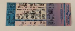 Lollapalooza-1993-Charles-Town-Racetrack-West-Virginia-Unused-Ticket-6-20-93