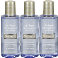 3 Pack Neutrogena Oil-free Eye Makeup Remover 5.5 Fl Oz (162 Ml) Each on sale