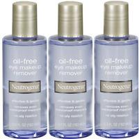 3 Pack Neutrogena Oil-free Eye Makeup Remover 5.5 Fl Oz (162 Ml) Each on sale