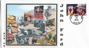 Movie-Directors-FDC-039-s-John-Ford-Single-Stamp-034-STAGECOACH-034